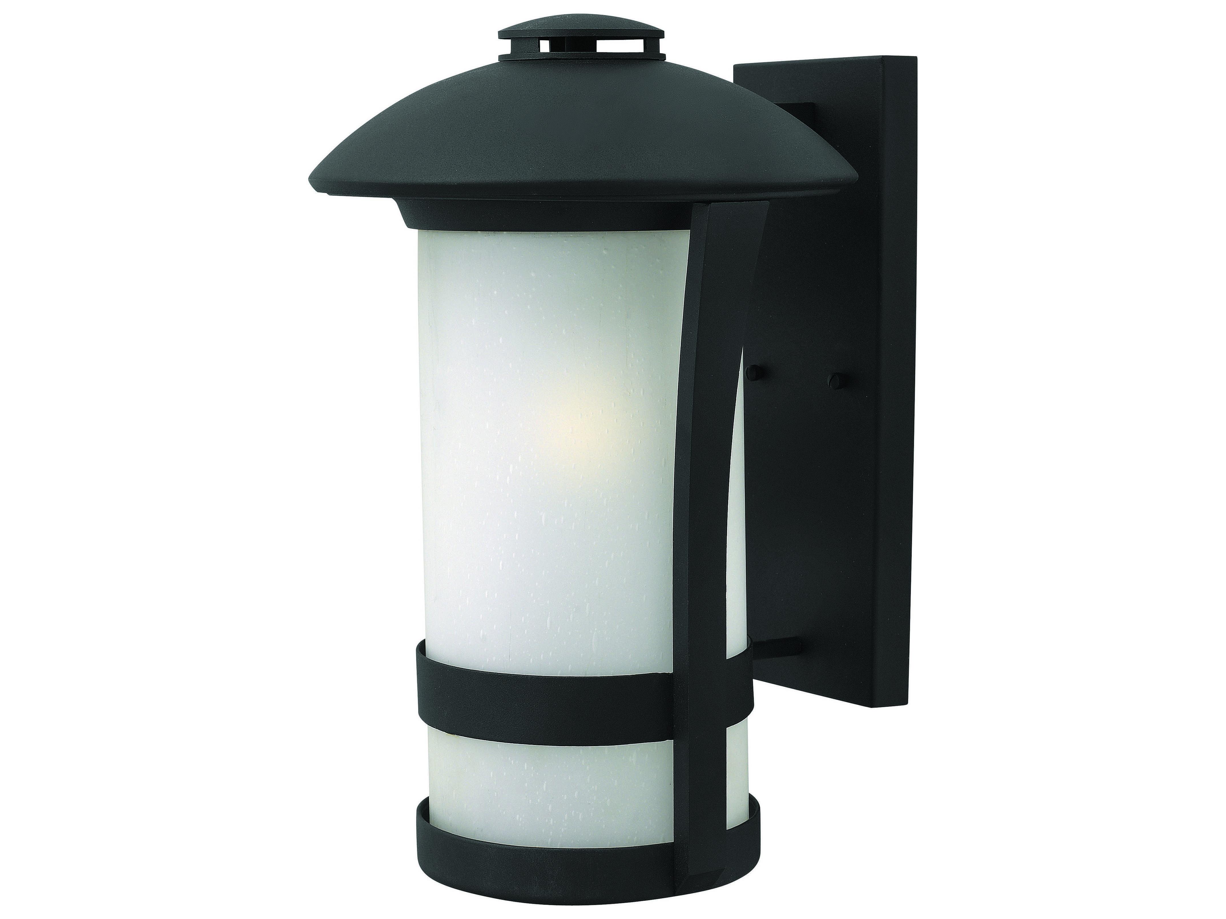 Led Outside Wall Lights Black : Hinkley Lighting Chandler Black LED Outdoor Wall Light 2705BK-LED