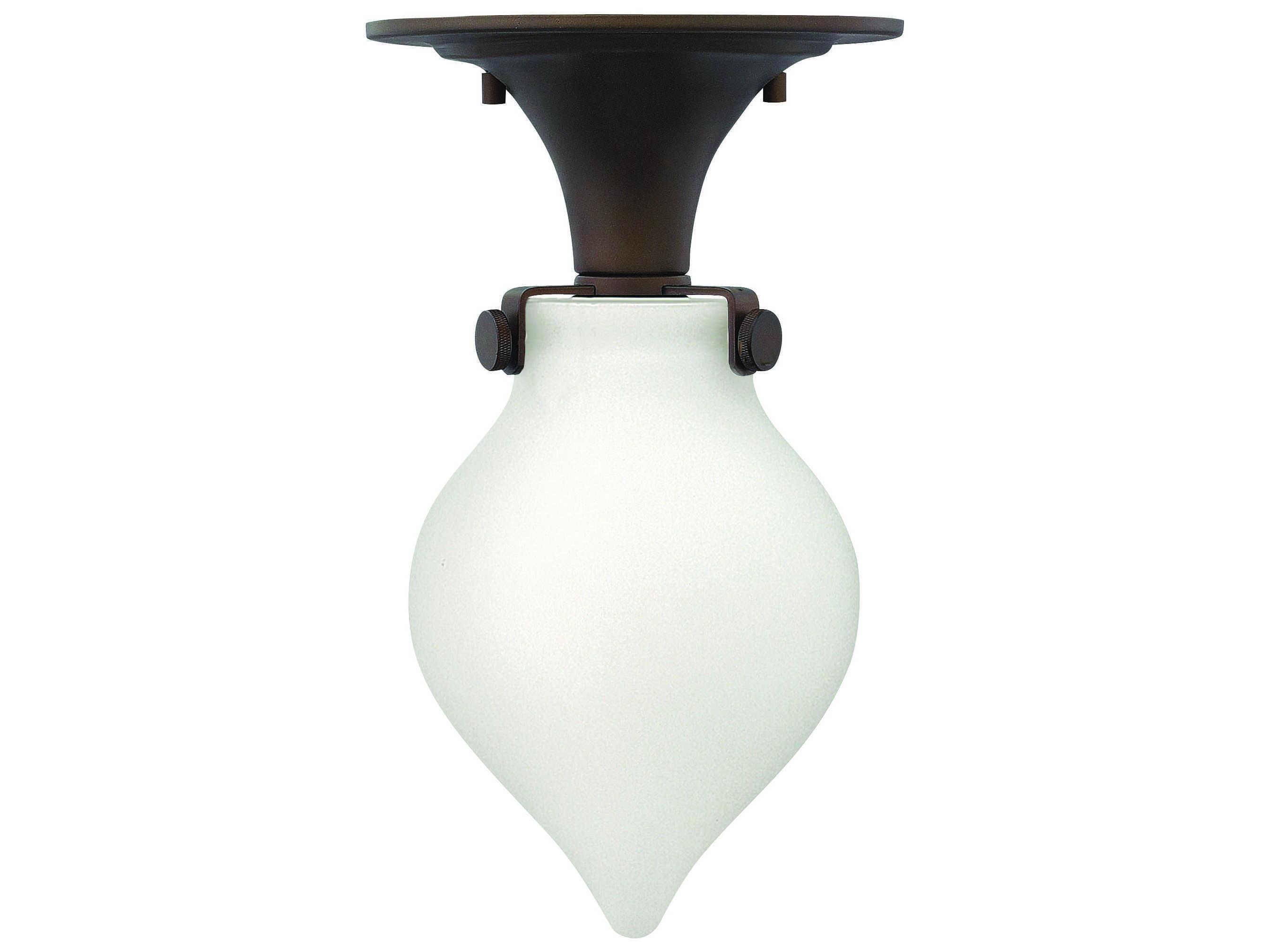 hinkley lighting congress oil rubbed bronze led semi flush mount light. Black Bedroom Furniture Sets. Home Design Ideas