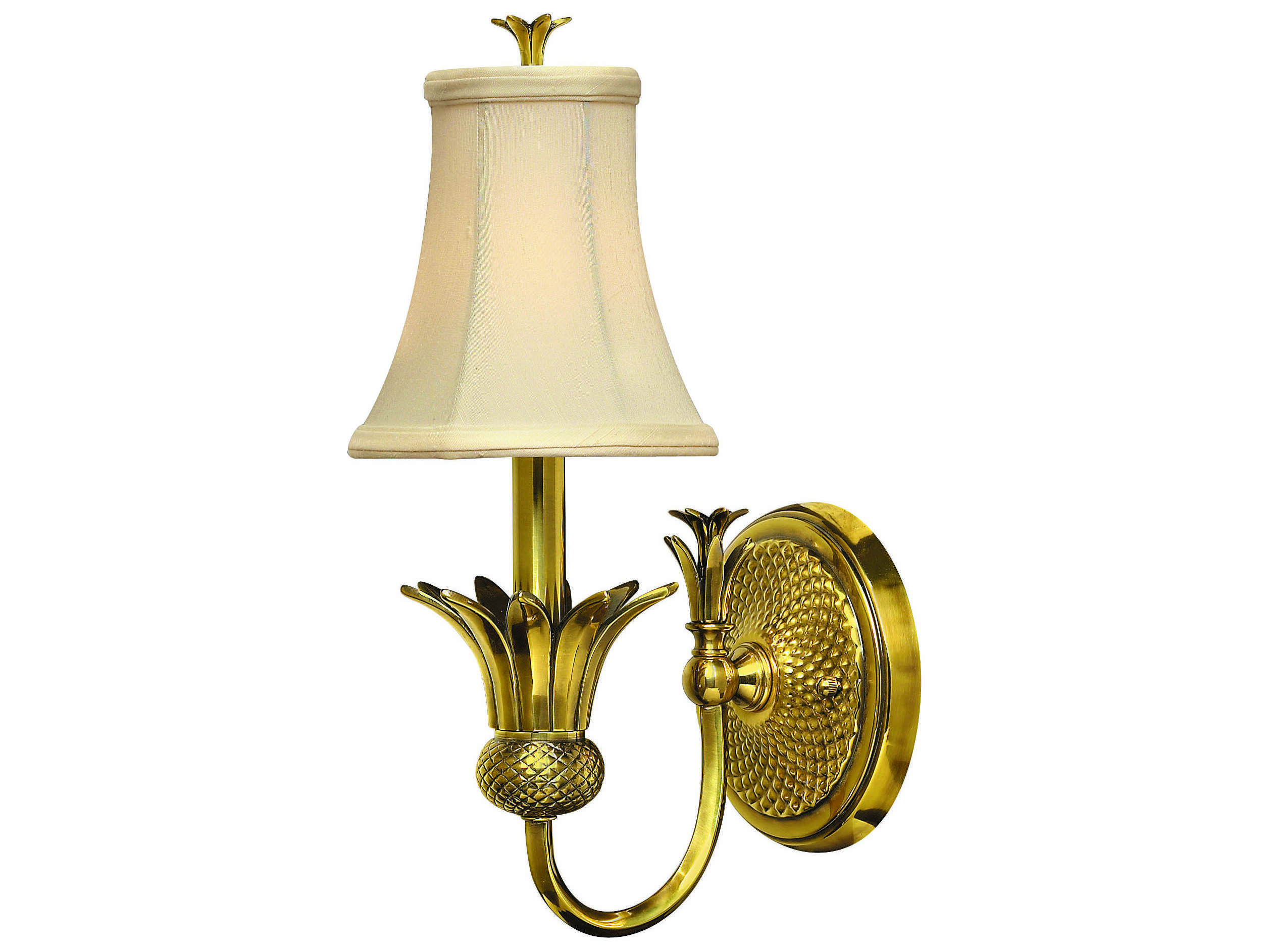 Hinkley Lighting Plantation Burnished Brass Wall Sconce 4880BB