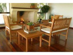 International Home Miami  Amazonia Eucalyptus Five Piece Milano Lounge Set