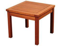 International Home Miami Amazonia Kingsbury Eucalyptus 19 Square Side Table