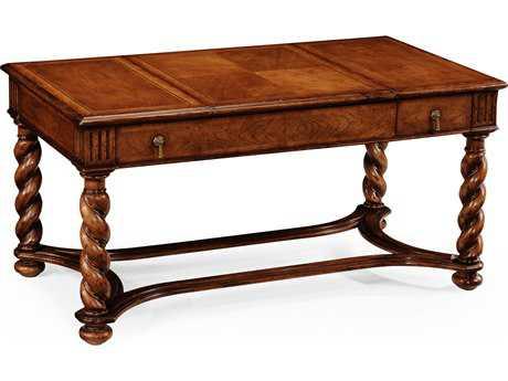 Jonathan Charles Windsor Medium Warm Walnut 43.5 x 23.5 Rectangular Coffee Table