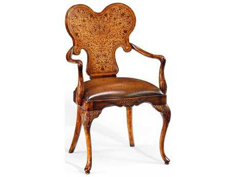 Jonathan Charles La Rochelle Medium Walnut Dining Chair