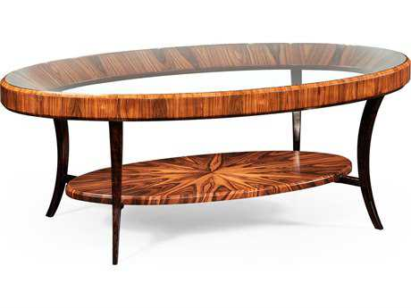 Jonathan Charles Santos collection Santos Rosewood Satin Coffee Table