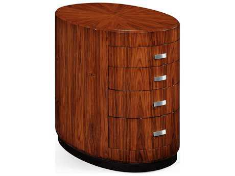 Jonathan Charles Santos collection Santos Rosewood Satin Chest of Drawers