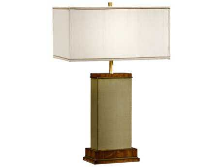 Jonathan Charles Cosmo Sage Homespun Finish Table Lamp