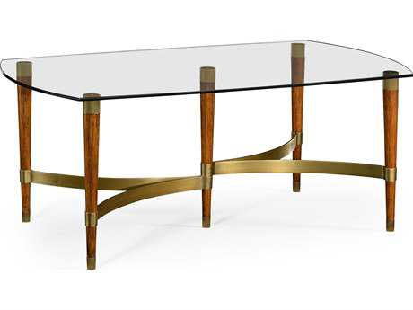 Jonathan Charles Cosmo collection Daniella Light Finish Coffee Table