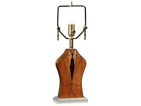 Jonathan Charles Alexander Julian collection Walnut Light Table Lamp