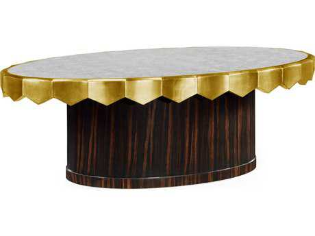 Jonathan Charles Luxe collection Macassar Ebony Finish Coffee Table