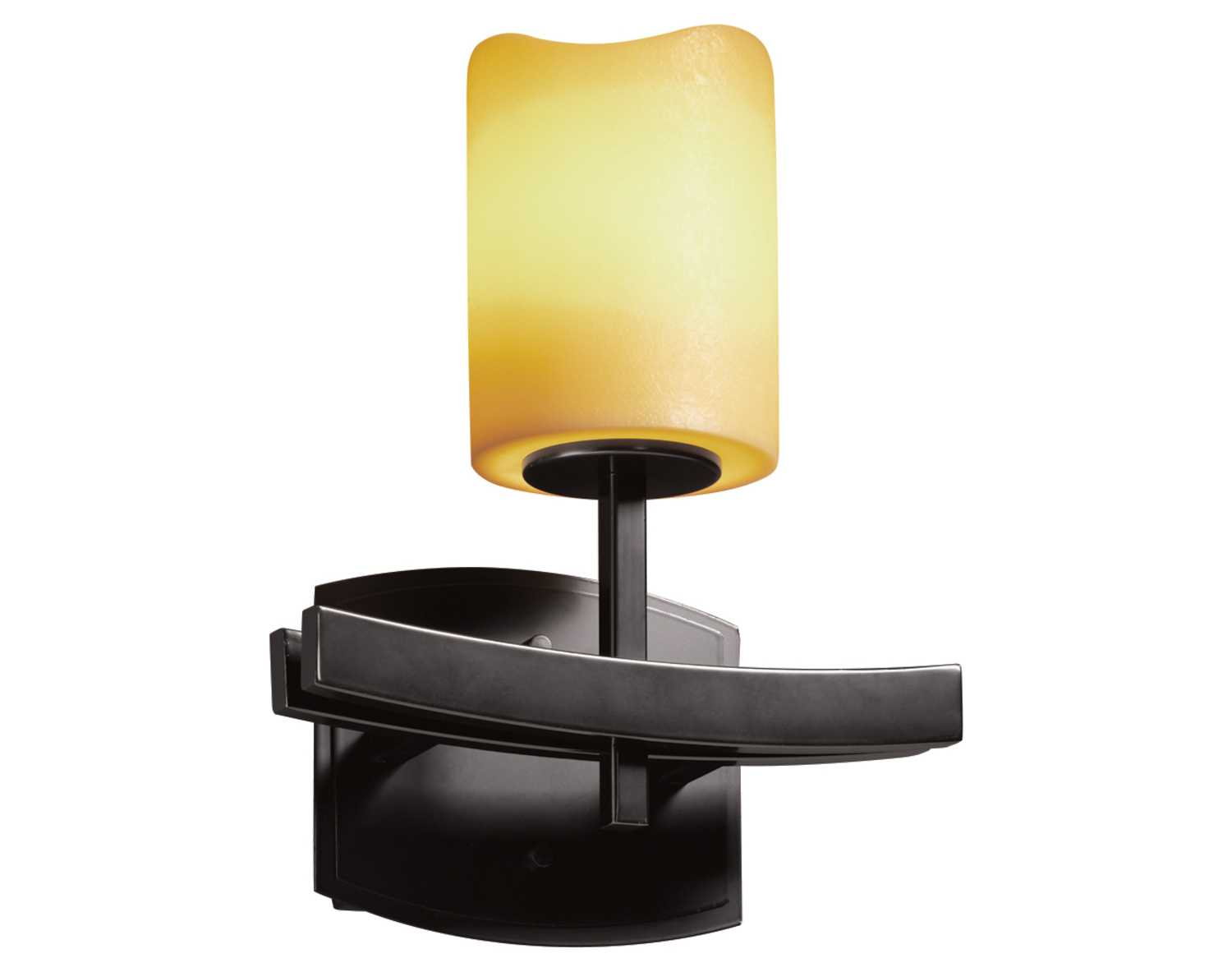 Wall Sconce Faux Candle : Justice Design Group Candlearia Archway Faux Candle Resin Wall Sconce CNDL-8591