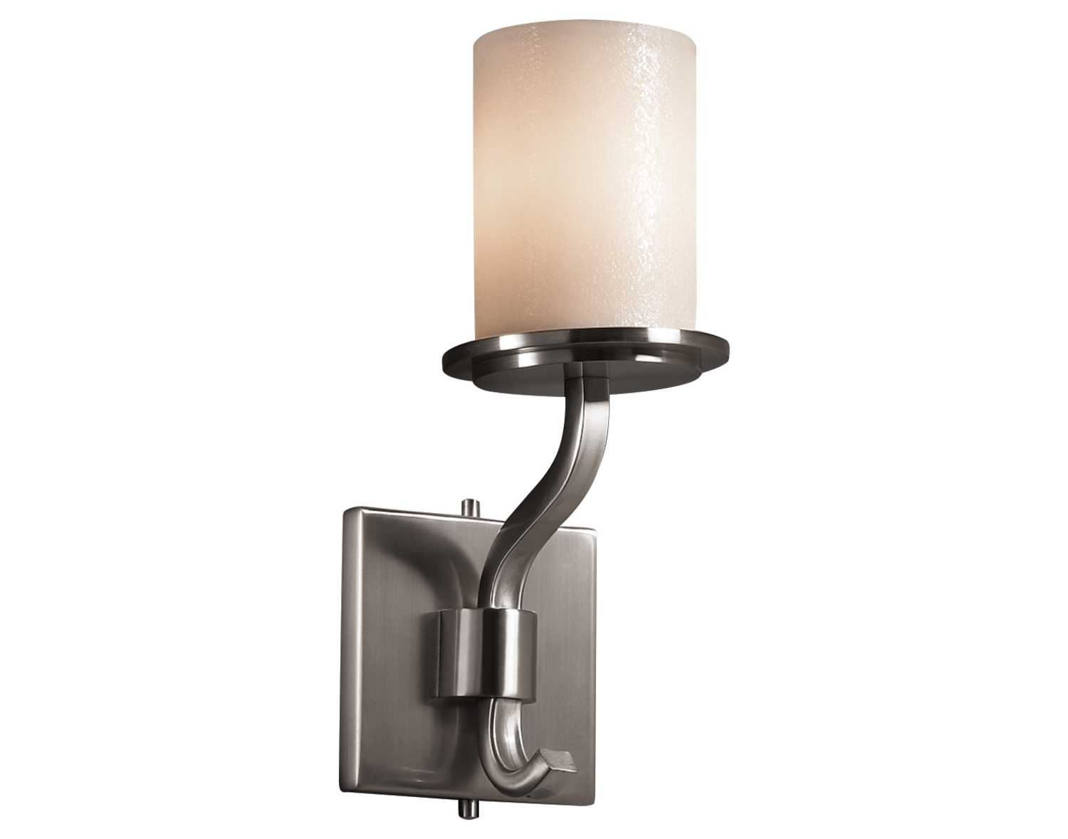 Fake Candle Wall Lights : Justice Design Group Candlearia Sonoma Short Faux Candle Resin Wall Sconce CNDL-8781