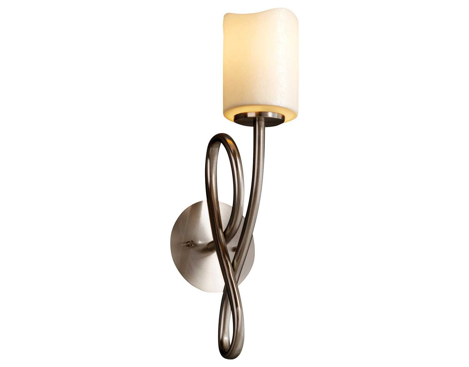 Justice Wall Sconces : Justice Design Group Candlearia Capellini Faux Candle Resin Wall Sconce CNDL-8911