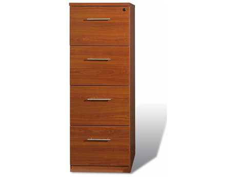 Jesper Office 100 Collection Cherry Four Drawer High Filing Cabinet