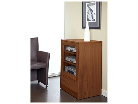 Jesper Office Entertainment & Occasional 24'' x 20'' Cherry Media Cabinet