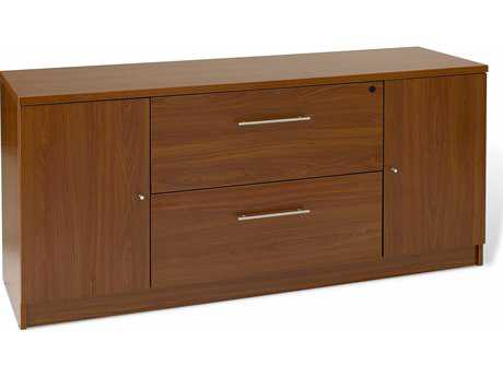 Jesper Office 100 Collection Cherry Credenza File Cabinet