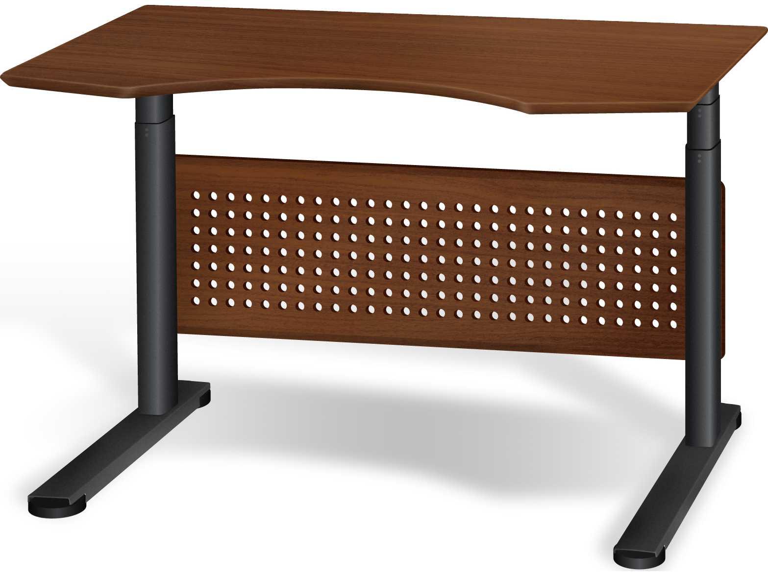 Jesper Office Sit Amp Stand 47 X 39 Cherry Adjule