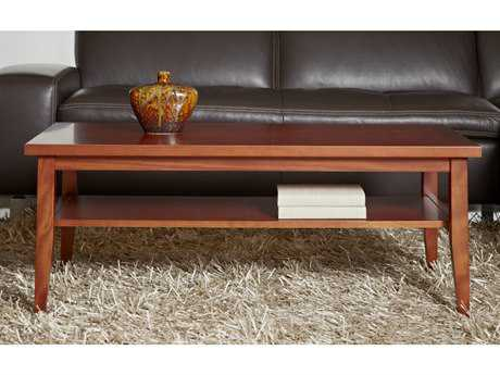 Jesper Office Entertainment & Occasional 47'' x 24'' Rectangular Cherry Coffee Table
