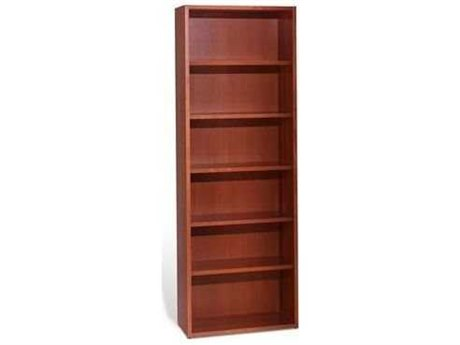 Jesper Office 2000 Collection 30L x 86H Cherry Five Shelf Bookcase