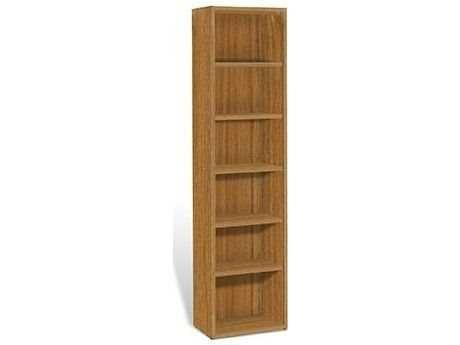 Jesper Office 2000 Collection 21L x 86H Teak Five Shelf Bookcase