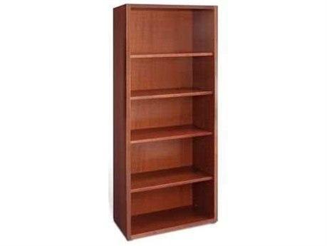 Jesper Office 2000 Collection 30L x 72H Cherry Four Shelf Bookcase