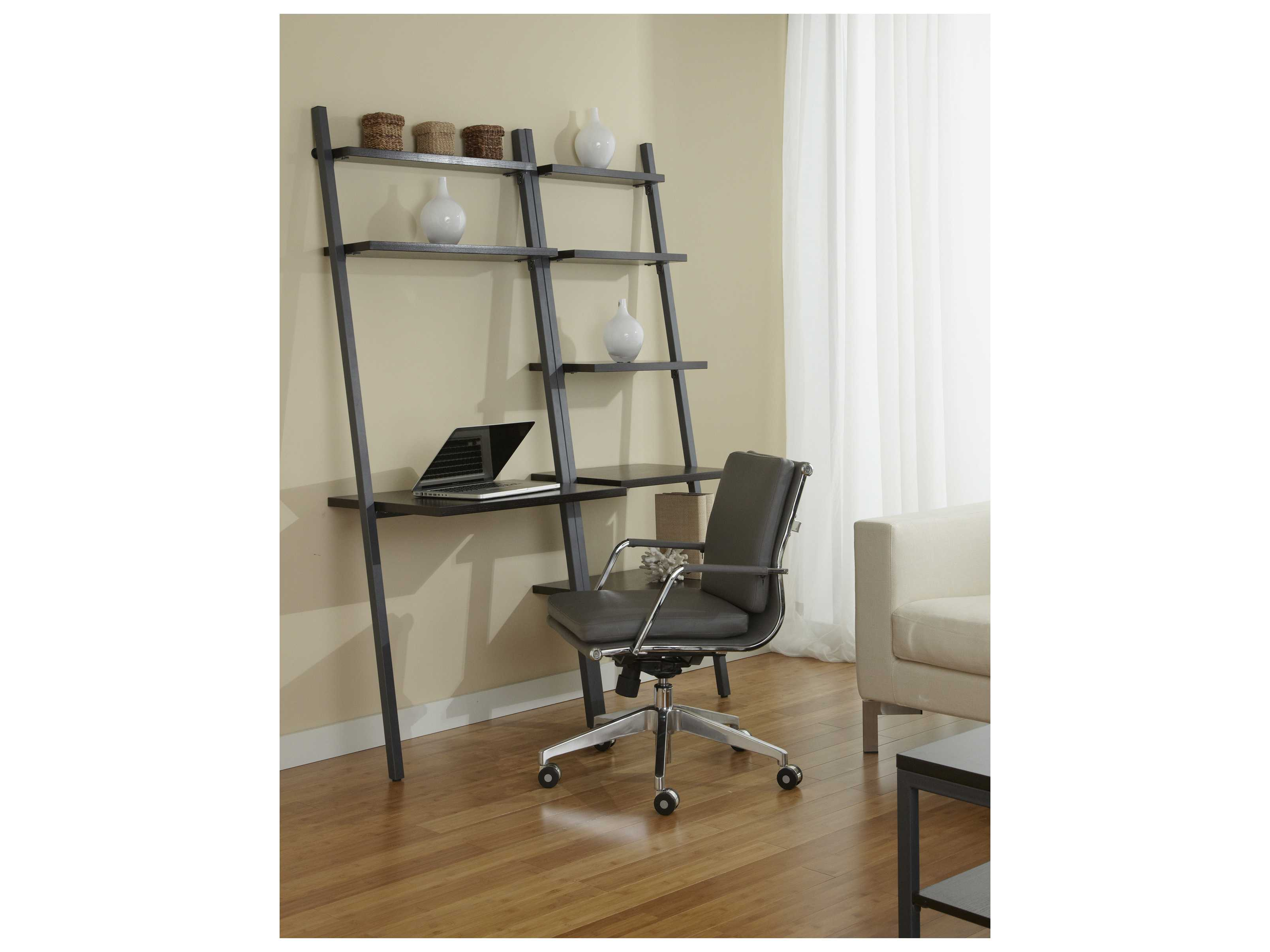 Jesper office 100 parson 52 39 39 x 29 39 39 rectangular espresso desk with ladder bookcase b3071d - Jesper office desk ...