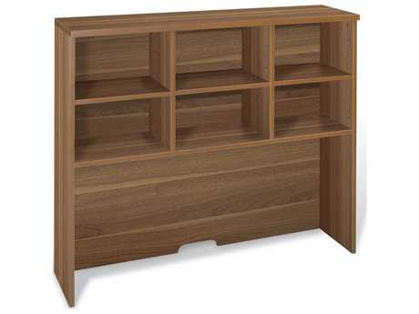 Jesper Office 100 Collection 48'' x 13'' Walnut Hutch