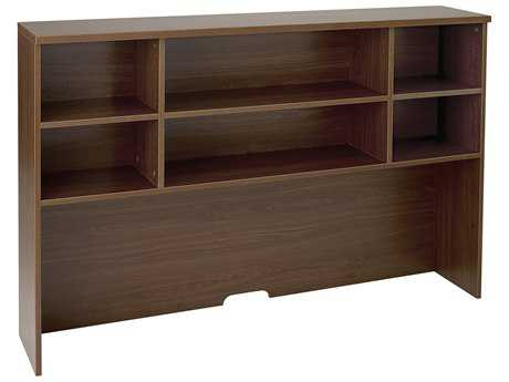 Jesper Office 100 Collection 63'' x 13'' Walnut Hutch