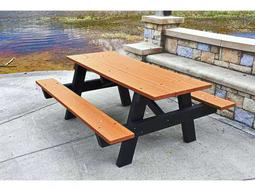 Frog Furnishings Hex Recycled Plastic Ft X Hexagon - Recycled plastic hexagonal picnic table