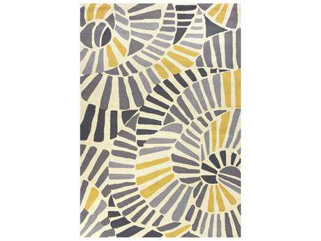 Jaipur Colours Modern Gray Machine Made Synthetic Abstract 2' x 3' Area Rug - RUG114995