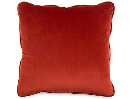 John Richard Solid Red 22 Pillow