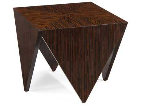 John Richard Amara 22 Square Point Occasional End Table