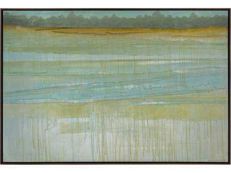 John Richard Abstract Rick Anderson's Rippled Waters Wall Painting