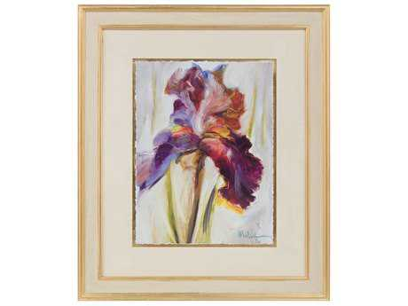 John Richard Botanical/Floral Color Of Iris I Wall Painting