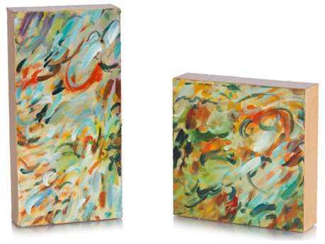 John Richard Frenzied Paintings (Two-Piece Set)