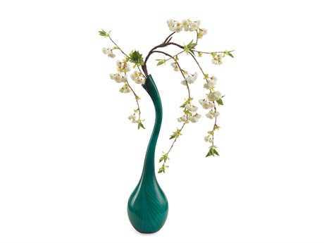 John Richard Interesting Aqua Floral Arrangement