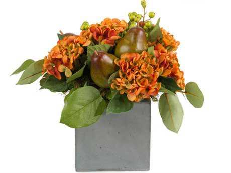 John Richard Orange Sherbert Floral Arrangement in Vase