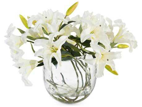 John Richard Lily White Floral Arrangement