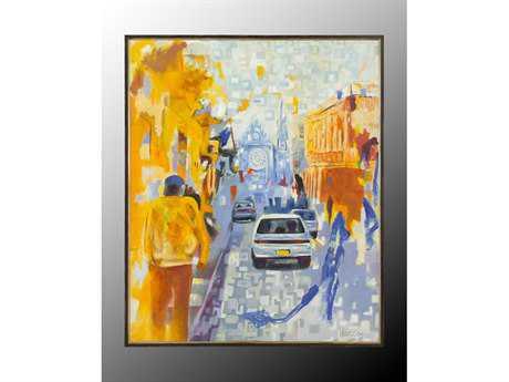 John Richard Vargas Street Scene Painting