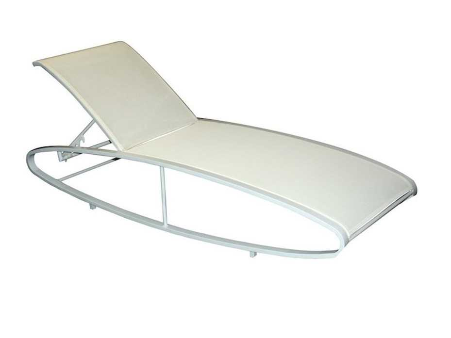 Jaavan pure aluminum chaise lounge ja 133 - Chaise longue aluminium ...