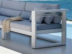 Jaavan Pure Aluminum Right Arm Facing Lounge Chair
