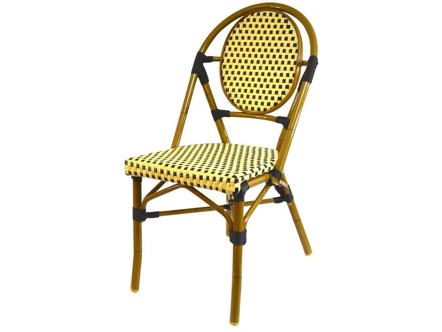 Jaavan Bistro Wood Dining Side Chair Paris Bistro