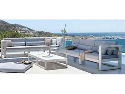 Jaavan Pure Aluminum Sectional Lounge Set