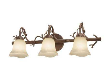 Kalco Lighting Vine Bark Three-Light Vanity Light 1209 - 3523BA-1209