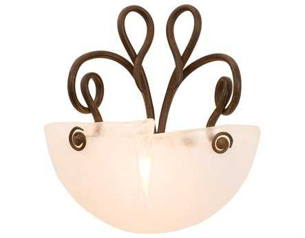 Kalco Lighting Tribecca ADA Wall Sconce Antique Copper / Frost - 4154AC-FROST