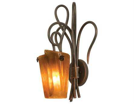 Kalco Lighting Tribecca Wall Sconce Antique Copper / G10 - 4285AC-FROST