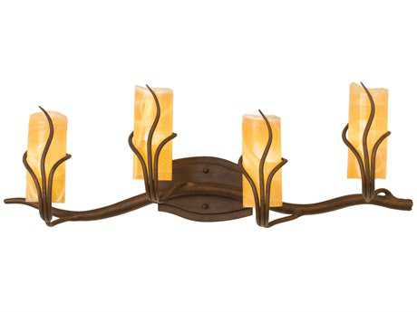 Kalco Lighting Napa Four-Light Vanity Light 1453 - 4754GW-SUNSET