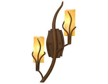 Kalco Lighting Napa Two-Light Vertical Wall Sconce 1451 - 4764GW-SUNSET