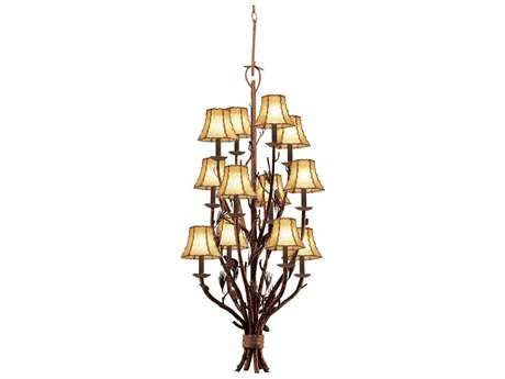 Kalco Lighting Ponderosa 12-Light Pendant No Shade - 5033PD-No Shade