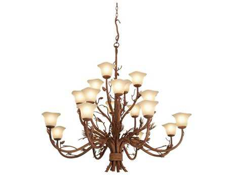 Kalco Lighting Ponderosa Eight-Light Chandelier 1209 - 5041PD-1209