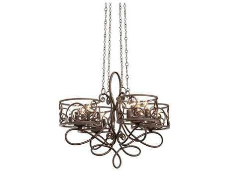 Kalco Lighting Windsor 16-Light 30'' Wide Chandelier Antique Copper - 5420AC